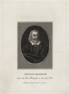 Gervase Markham, by Burnet Reading, after  Thomas Cross, early 19th century