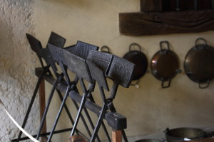 Waffle Irons, Musée Lorrain. From Wikimedia Commons